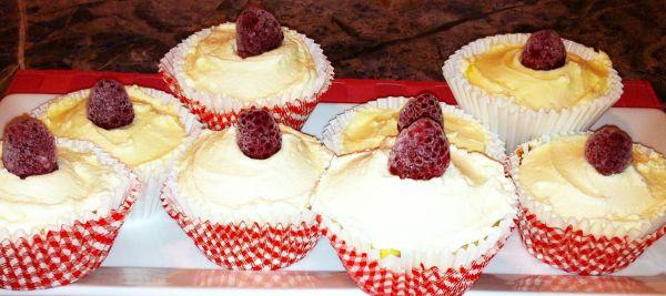 Raspberry Rose Cupcakes 3