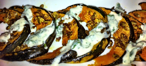 Spice Roasted Pumpkin